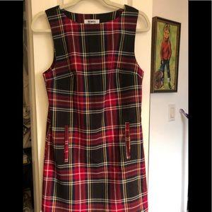 BB Dakota plaid jumper dress - found!